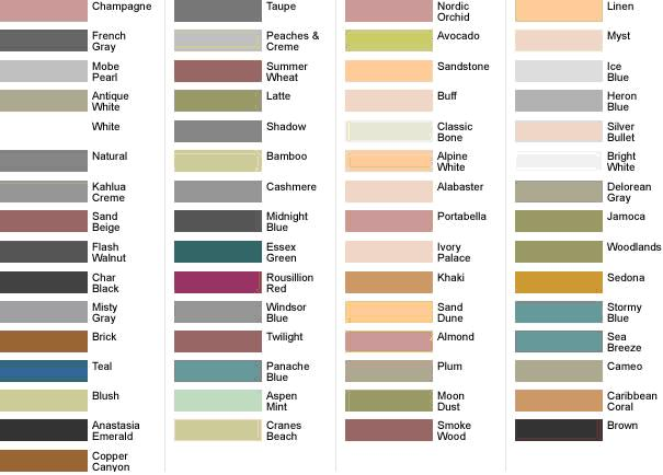 Polyblend Sanded Grout Colors Chart Ibovnathandedecker