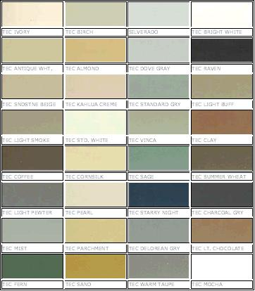 Grout Color Chart Ibovnathandedecker
